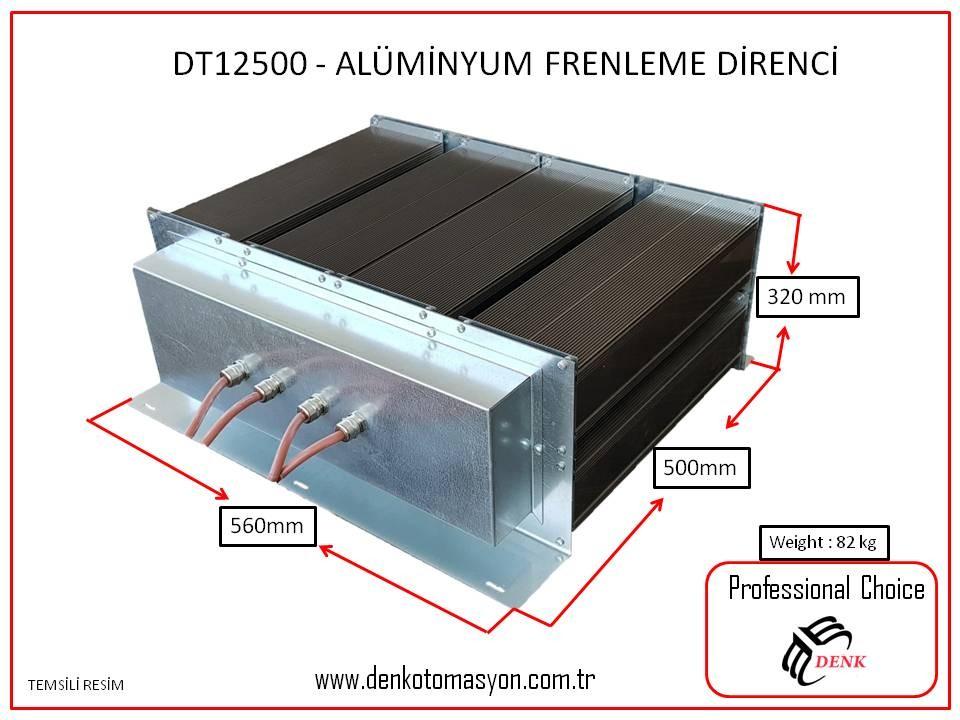 DT12500 - ALÜMİNYUM FRENLEME DİRENCİ