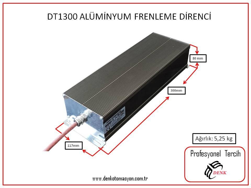 DT1300 -  ALÜMİNYUM  FRENLEME DİRENCİ