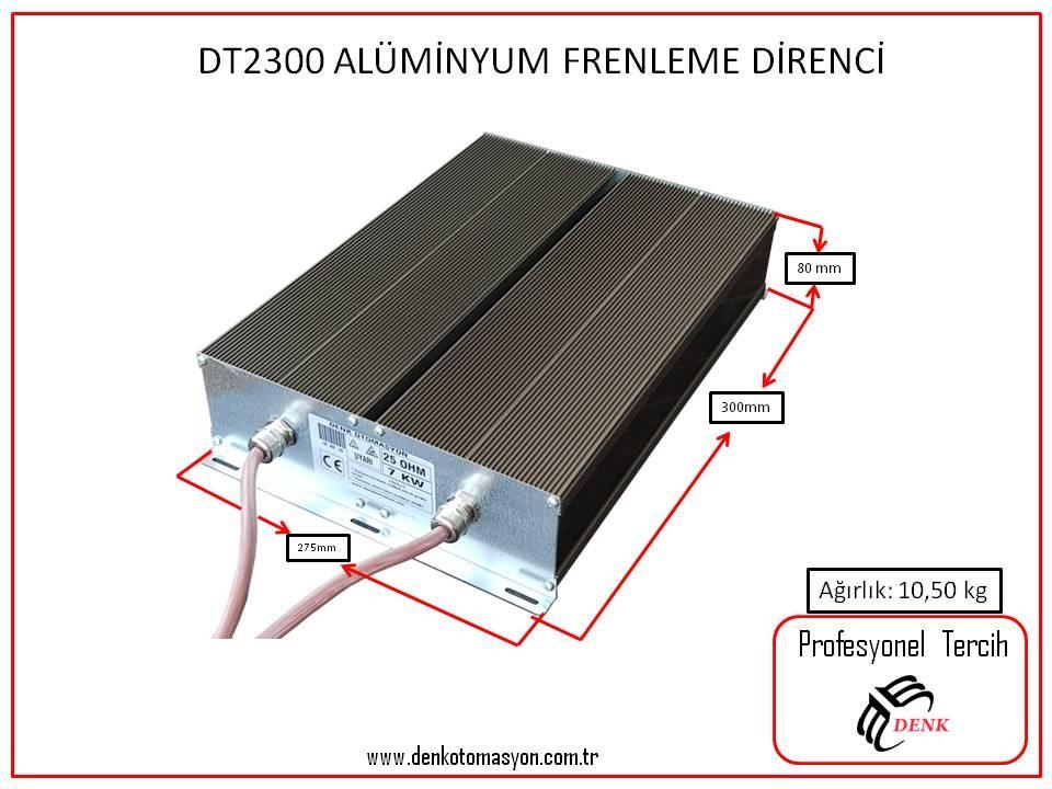 DT2300 -  ALÜMİNYUM FRENLEME DİRENCİ