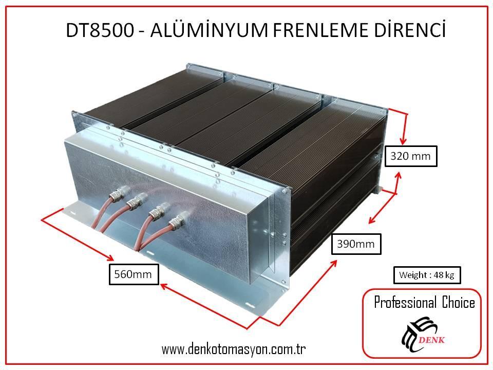 DT8500 - ALÜMİNYUM FRENLEME DİRENCİ