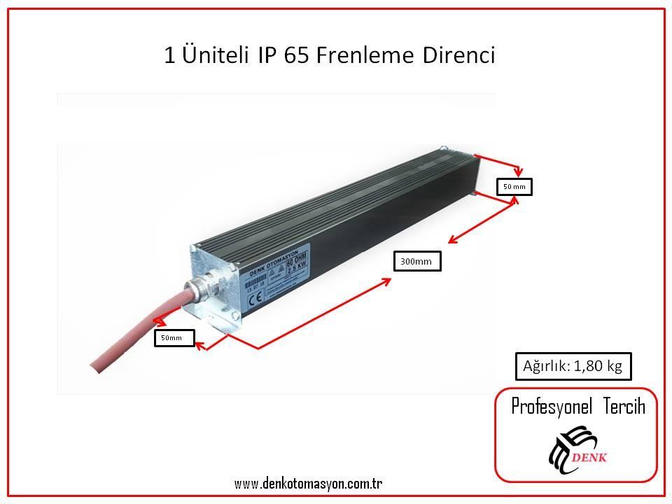 DTM-300 ALÜMİNYUM FRENLEME DİRENCİ