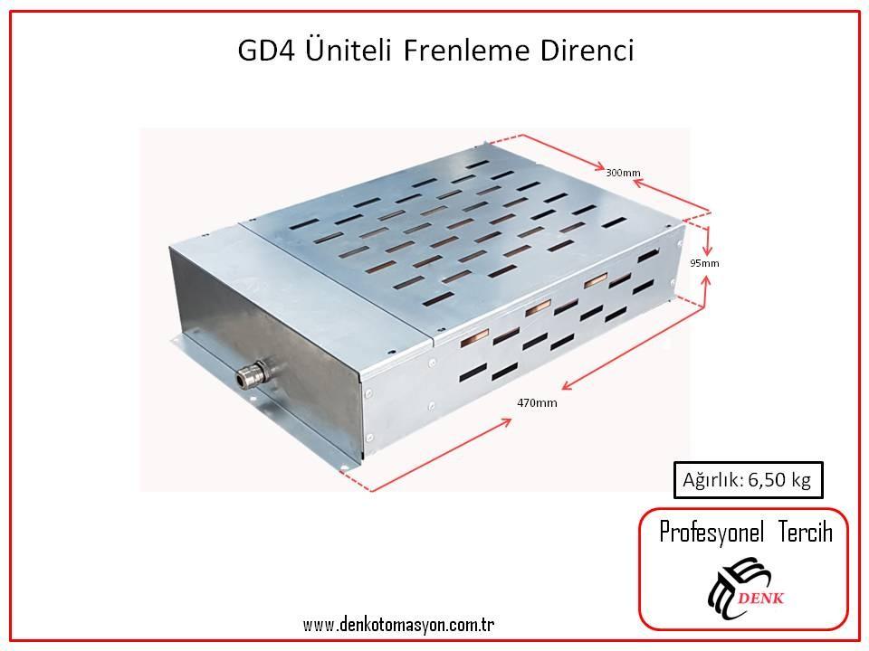 GD4 4 ÜNİTELİ GALVANİZ FRENLEME DİRENCİ